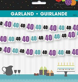 Unique GUIRLANDE 40 ANS