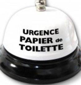 Créations ozze CLOCHE SONNEZ POUR DU PAPIER DE TOILETTE