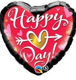 Qualatex MYLAR 18PO HAPPY VALENTINES DAY