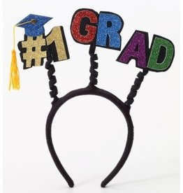 Forum Novelty BANDEAU GRADUATION-#1 GRAD-NOIR