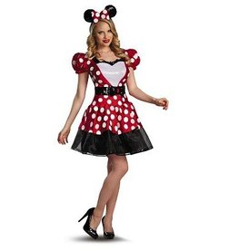 Disguise COSTUME ADULTE MINNIE MOUSE GLAMOUR