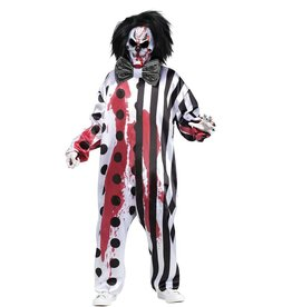 FUN WORLD COSTUME ADULTE CLOWN ENSANGLANTÉ - STD