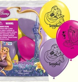 Qualatex SAC DE 6 BALLONS RAIPONCE