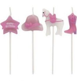 Creative Converting CHANDELLES COWGIRL ROSE (4)