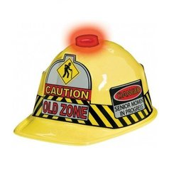 Amscan CASQUE CAUTION OLD ZONE