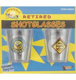 Forum Novelty VERRES À SHOOTER - OFFICIALLY RETIRED (2)