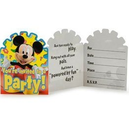 INVITATIONS MICKEY MOUSE (8)