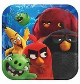 Amscan ASSIETTES 7PO ANGRY BIRDS