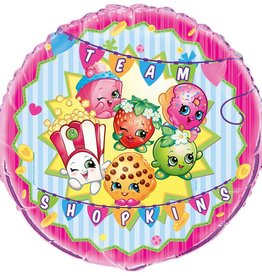 "Unique BALLON MYLAR GÉANT 28"" - SHOPKINS"