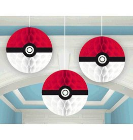 Amscan DÉCORATIONS SUSPENDUES - POKÉMON (3)