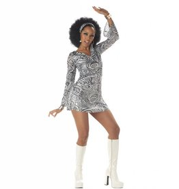 California Costumes COSTUME ADULTE DISCO DIVA
