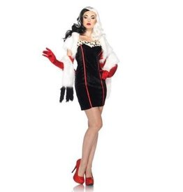 Leg Avenue *COSTUME ADULTE CRUELLA