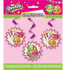 Unique DÉCORATIONS SUSPENDUES - SHOPKINS