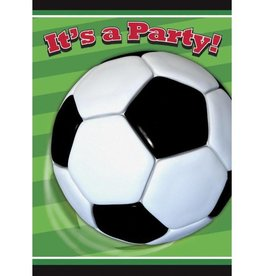 Unique INVITATIONS (8) - SOCCER
