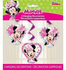 Unique DÉCORATIONS SPIRALES (3) - MINNIE MOUSE