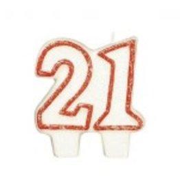 Amscan CHANDELLE #21 ROUGE