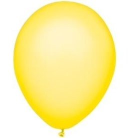 Party Mate SAC DE BALLONS LATEX 11' JAUNE NÉON SAC DE 10