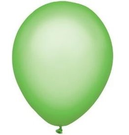 Party Mate SAC DE BALLONS LATEX 11' VERT NEON SAC DE 10