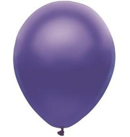 Party Mate SAC DE BALLONS LATEX 11' MAUVE SATINÉ SAC DE 10