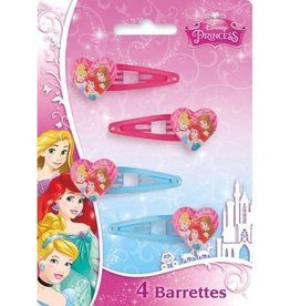 Unique BARRETTES À CHEVEUX (4) - PRINCESSES DISNEY