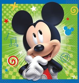Unique SERVIETTES DE TABLE (16) - MICKEY MOUSE