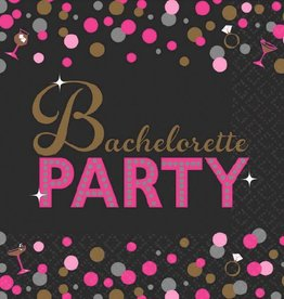 Amscan SERVIETTES à COCKTAIL - BACHELORETTE PARTY (16)