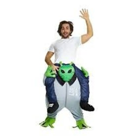 MORPHSUITS COSTUME ADULTE MORPHSUIT PIGGYBACK - ALIEN - STD