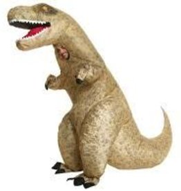 MORPHSUITS *COSTUME ADULTE MORPHSUIT GONFLABLE T-REX GÉANT - STD