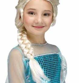 FUN WORLD *PERRUQUE ENFANT REINE DES NEIGES