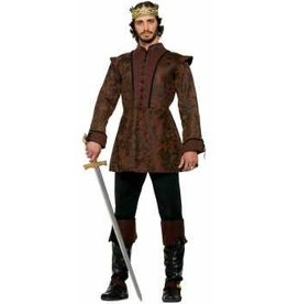 Forum Novelty COSTUME ADULTE ROI MEDIEVAL - STD