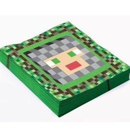 Forum Novelty SERVIETTE DE TABLE (16) - MINECRAFT