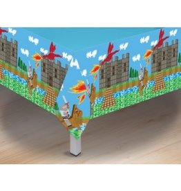 "Forum Novelty NAPPE EN PLASTIQUE 54""X108"" MINECRAFT"