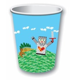 Forum Novelty VERRES 9OZ (8) - MINECRAFT