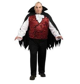 RUBIES COSTUME ADULTE VAMPIRE TAILLE PLUS