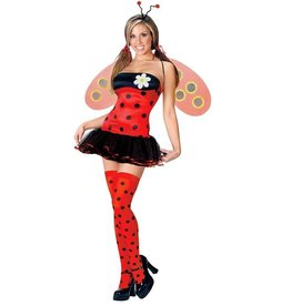 FUN WORLD COSTUME ADULTE SEXY COCCINELLE