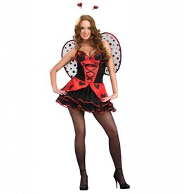 RUBIES COSTUME ADULTE MISS COCCINELLE