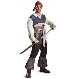 Disguise COSTUME ADULTE JACK SPARROW - DEAD MEN TELL NO TALES