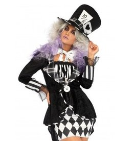 Leg Avenue COSTUME ADULTE MAD HATTER SOMBRE -