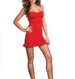 Dreamgirl DÉPART DE COSTUME : ROBE ROUGE SMALL