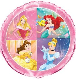 "Unique BALLON MYLAR 18"" - PRINCESSES DISNEY"