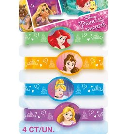 Unique BRACELETS (4) - PRINCESSES DISNEY