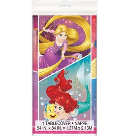 Unique NAPPE EN PLASTIQUE 54X84 - PRINCESSES DISNEY
