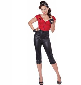 RUBIES COSTUME ADULTE FEMME - HOT ROD HONEY