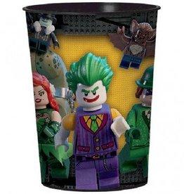Amscan VERRE DE PLASTIQUE 16OZ - BATMAN LEGO