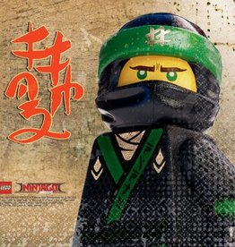 Amscan SERVIETTES DE TABLE - LEGO NINJAGO  (16)