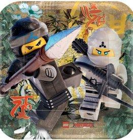 Amscan ASSIETTES 7PO - LEGO NINJAGO (8)