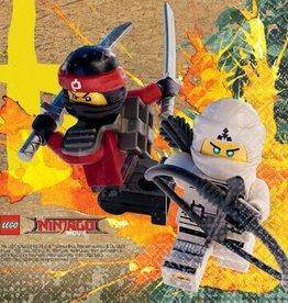 Amscan SERVIETTE À COCKTAIL - LEGO NINJAGO (16)
