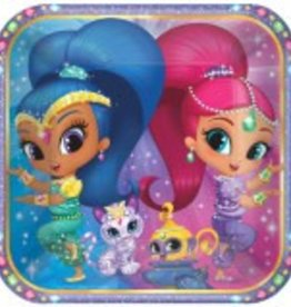Amscan ASSIETTES 9PO - SHIMMER AND SHINE (8)