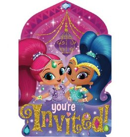 Amscan INVITATIONS - SHIMMER AND SHINE (8)