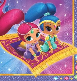 Amscan SERVIETTES DE TABLE - SHIMMER AND SHINE (16)